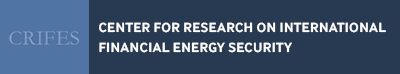 Center for Research on International Financial Energy Security